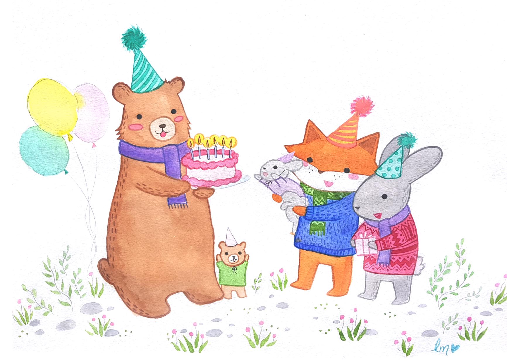 Bear Children's Book Lauren Metzler