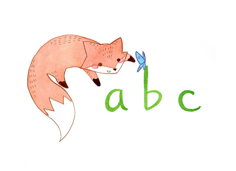 ABC Fox Children's Book