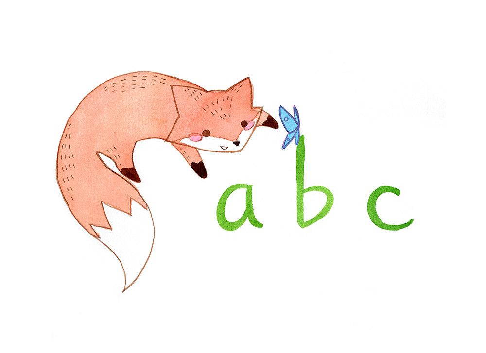 ABC Fox Children's Book
