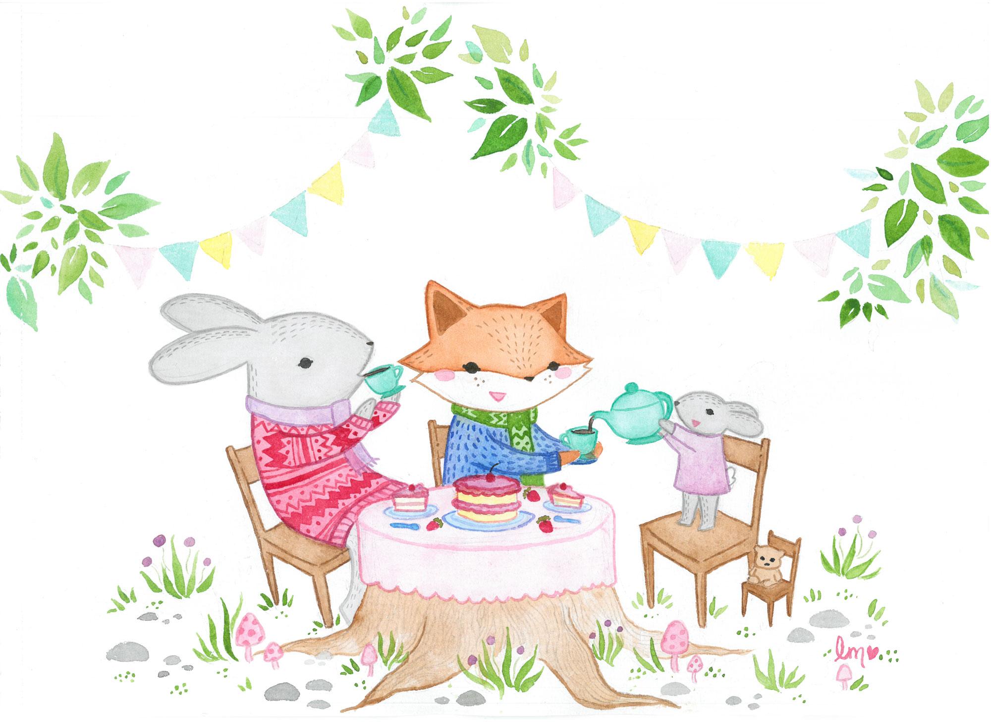 Lauren Metzler Children's Book Illustration view more at laurenmetzler.com