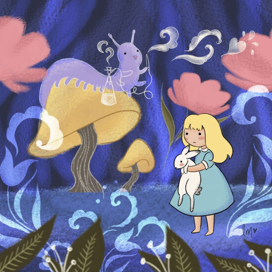 Alice in Wonderland Lauren Metzler Children's Book Illustration See more at laurenmetzler.com