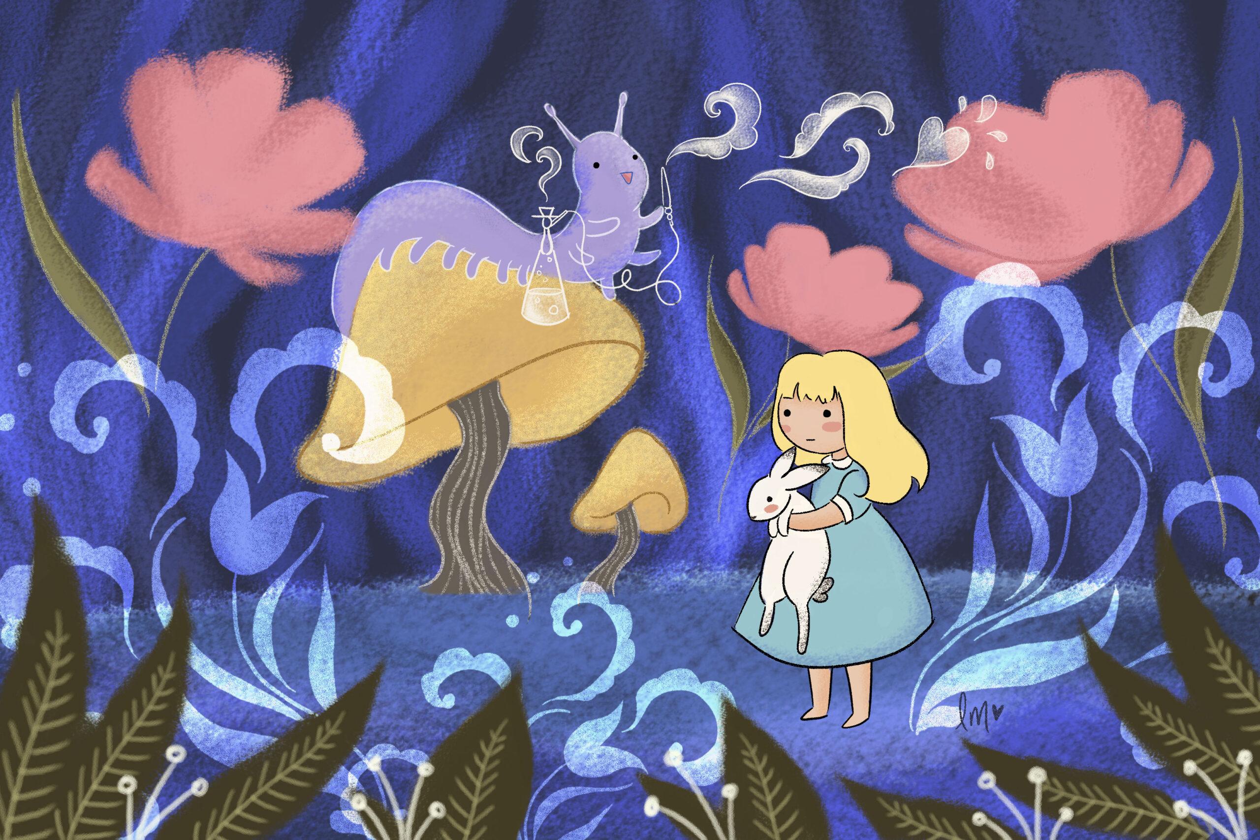 Alice in Wonderland Lauren Metzler Children's Book Illustration See more at laurenmetzler.com