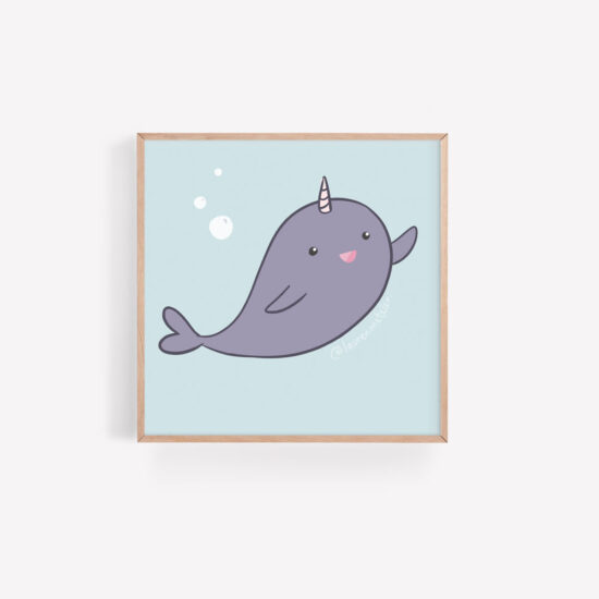 Lauren Metzler Nelly the Narwhal childrens book