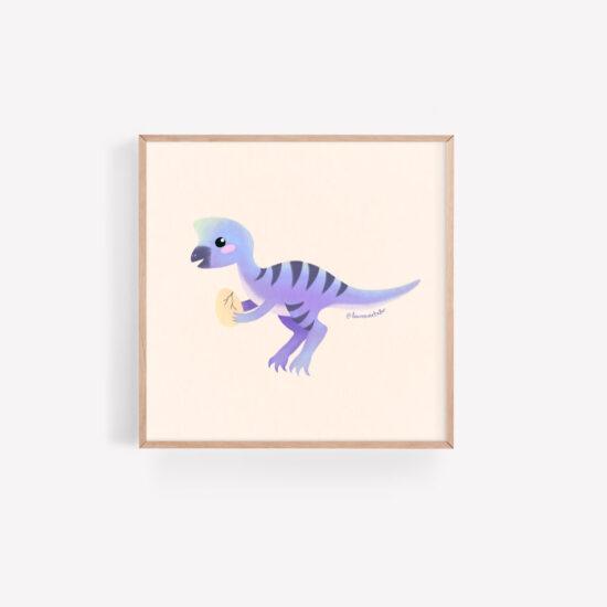 Ollie the Oviraptor by Lauren Metzler