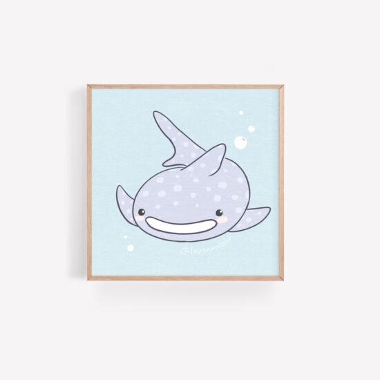 Whale shark by Lauren Metzler